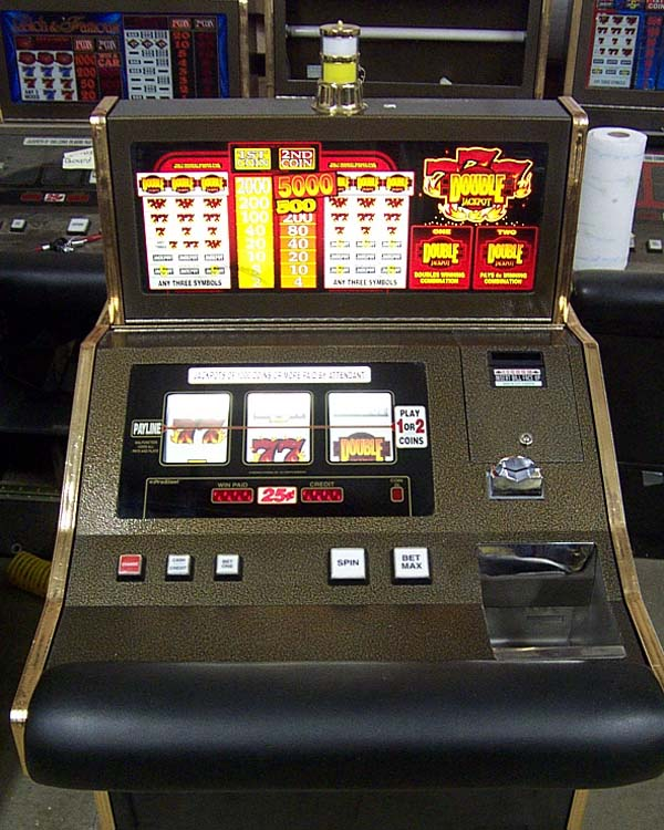 blazing 7 slot machine for sale