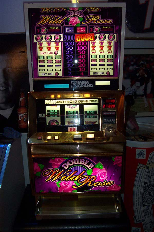 Wild rose slot machine for sale pub aime jacquet casino